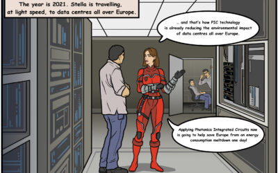 JePPIX releases first comic book story about the importance of integrated photonics